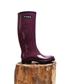Roma BootsRoma Boots Classic Plum Rain Boots