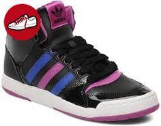 Adidas Midiru Court Mid 2W, Damen Sneaker, blau - blu (Bleu, bleu turquoise, blanc et rose) - Größe: 38 2/3 - Adidas schuhe (*Partner-Link)