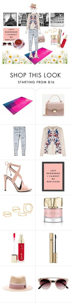 """""""Untitled #64"""" by debysilviaa on Polyvore featuring Abercrombie & Fitch, Yumi, Kendall + Kylie, MANGO, Smith & Cult, D&G and Maison Michel"""