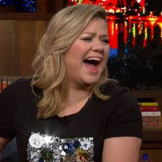 Pin for Later: Kelly Clarkson Finally Confirms She Dated Justin Guarini but Not During Idol
