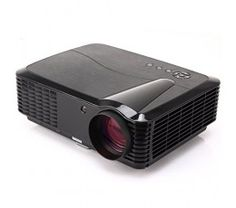 EUG 3D HD HDMI Multimedia Video Projector 3400 Lumens Home Cinema System LCD 50000 Hours LED Life