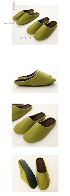 [심플어반 슬리퍼(green)]