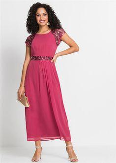 99633d8cdd Sukienka wieczorowa jasny jeżynowy Długa • 179.99 zł • bonprix