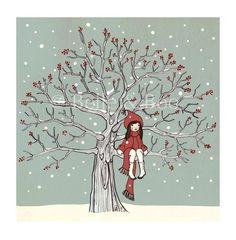 My Favourite Spot in Winter by belleandboo on Etsy, £24.00