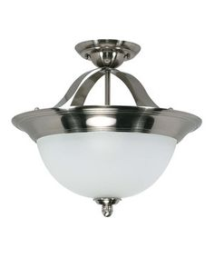 Look what I found on #zulily! Smoked Nickel 14'' Palladium Ceiling Fixture by Nuvo Lighting #zulilyfinds