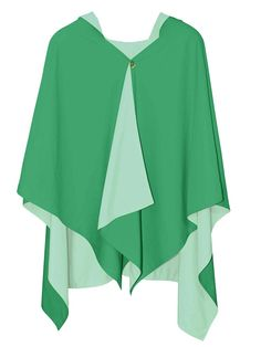 Hooded Emerald Green + Light Jade RAINRAP
