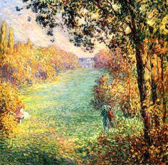 Lebasque, Henri (French, 1865-1937) - Autumn - 1900 | Flickr - Photo Sharing!