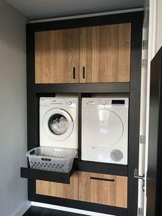 Unique Laundry Room Decoration Ideas Just For You - Waschraum - Küchen Design, House Design, Design Ideas, Design Styles, Decor Styles, Design Trends, Modern Laundry Rooms, Vintage Laundry Rooms, Modern Bathroom Tile