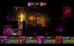#DungeonLeague a party=-based #dungeoncrawler has been #released on #Early Access for Linux, Mac and Windows PC