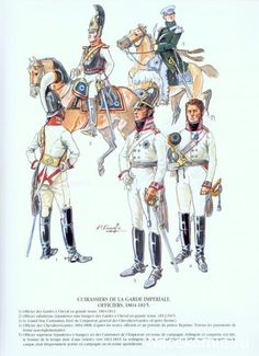 Russian Guard Cuirassuers-Officers 1804-1815