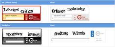 reCAPTCHA v1 themes