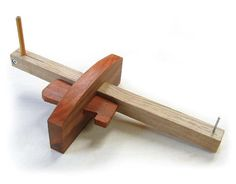 <strong>Shop Jig:</strong> Marking gauges are a basic yet essential shop tool for quickly and accurately marking layout lines on your stock. This marking gauge allows you to mark with a pencil or a pin and, as you will see, is quite simple to make.<br />