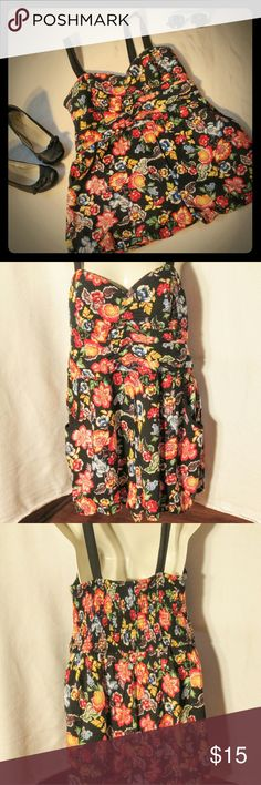 Band Of Gypsies Romper Sz L NWOT Band Of Gypsies Romper Sz L NWOT. Very cute romper with an elastic waist and has very vibrant colors. Band of Gypsies Other