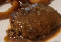 Lean GFDF Country Style Cubed Steak with non-dairy gravy