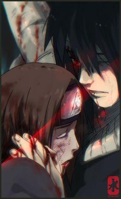 Obito and Rin .