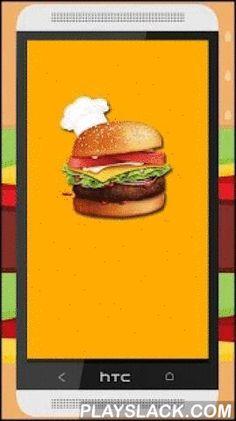 Recetas De Hamburguesas  Android App - playslack.com , Uno de los platos más internacionales y más conocidos en el mundo.Completa y sencilla guía sobre la elaboración de hamburguesas.Recetas desde las mas clásicas hasta las ultimas hamburguesas de diseño.Si te gusta cocinar anímate a probarlas, seguro que te encantan, por su facilidad de elaboración y por la variedad de hamburguesas que existen.No te conformes con MC Donald, Burguer King o Foster.
