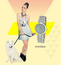 Ooooun! ♥   O relógio prateado é atemporal e combina com tudo. Ref: 94507L0MNNM1