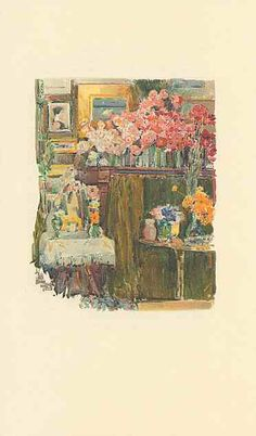 The altar and shrine ~ from 'An Island Garden' by Celia Thaxter