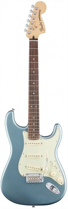 Fender Deluxe Roadhouse Stratocaster - Mystic Ice Blue / Rosewood   GigGear