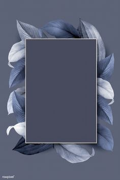 Rectangle foliage frame on bluish gray background vector | premium image by rawpixel.com / wan Grey Wallpaper Mobile, Grey Wallpaper Iphone, Phone Wallpaper Images, Flower Background Wallpaper, Flower Phone Wallpaper, Framed Wallpaper, Cute Wallpaper Backgrounds, Gray Background, Background Patterns