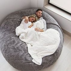 This is the most comfy bed Dream Rooms, Dream Bedroom, Girls Bedroom, Bedroom Decor, Decor Room, Master Bedroom, Bedrooms, Love Sack Bean Bag, Puff Gigante