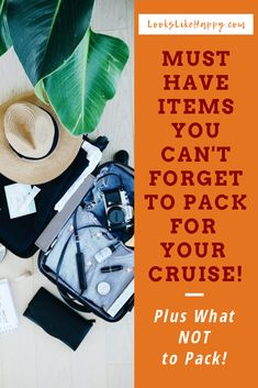 51 Items you didn't know you might need on your cruise! Read now and be prepared to have an amazing cruise! Ultimate Packing List, Packing List For Cruise, Cruise Travel, Cruise Vacation, Packing Tips, How To Book A Cruise, Vacation Pictures, Lifestyle Group, Travel Tips