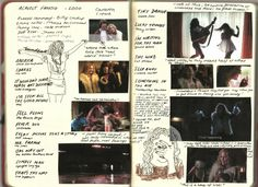 meganzoeee:  Watched'Almost Famous' the other day and I loved it so much that it's 1am and i'm making film journal pages because what's better than realising that your sleep pattern is screwed up and there's absolutelynothing you can do about it (other than make film journal pages and cry) :-))