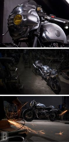 The Bullitt: Triumph Thruxton Steampunk Racer by BCR