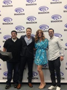 Adam, Josh, Rebecca & Eddy at WonderCon - April 19, 2014
