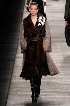 Fendi Autumn/Winter 2014 Collection | Never Underdressed