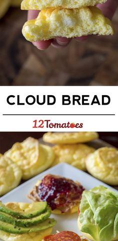 3 Ingredient Cloud Bread