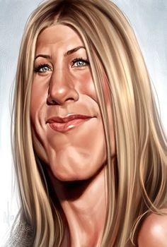 Jennifer Anniston  Artist: Chris Wahl  website: http://chriswahlart.blogspot.com/