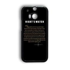 Game Of Thrones Night'S Watch Design HTC One M9 Case