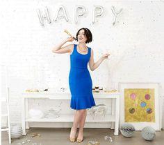 Audrey dress in blue
