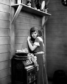 Clara Bow in True to the Navy, 1930.
