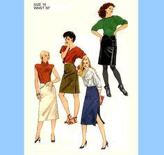 748 Simplicity 6491 Womens Sexy Slim Pencil by ladydiamond46