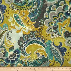 Richloom Tlak Lagoon from @fabricdotcom  Screen printed on cotton duck; this versatile medium weight fabric is perfect for window accents (draperies, valances, curtains and swags), accent pillows, duvet covers and upholstery. Create handbags, tote bags, aprons and more. Colors include grey, citrine, teal, ivory and jade.