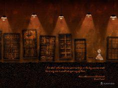 Alice in Wonderland - A Tiny Golden Key by VladStudio