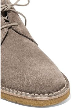 Vince - Parsons Suede Desert Boots - Taupe - US7.5