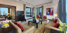 Mrinmoy Barua adds a touch of exotic elegance to The Oberoi hotel rooms Best Hotels In Dubai, Dubai Hotel, Contemporary Art Daily, Contemporary Artists, The Oberoi, Sofa, Interior Design, Offices, Art Work