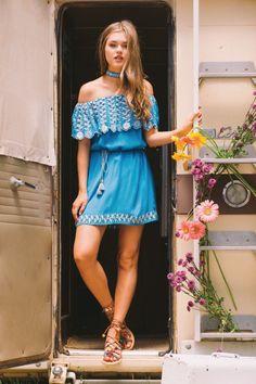 Daisy Off Shoulder Dress