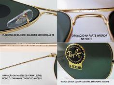de0de4ba6 oculos de sol aviador original certificado e garantia promoção - GRUPO  PROMOÇÃO