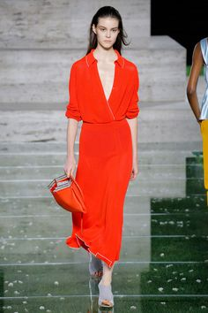 Salvatore Ferragamo Spring 2018 Ready-to-Wear  Fashion Show - Irina Shnitman