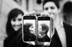 Selfi kiss