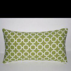 Great accent pillow to match your green decor! #Green #Fall #2013