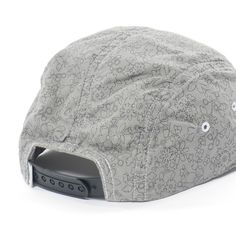 Pedaler Cap - Cotton Oxford by Liberty Overdyed Gray