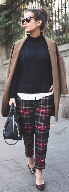Winter Outfit Ideas For The Office