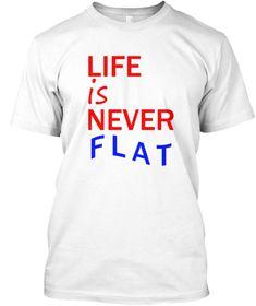 Flat White Kaos Front