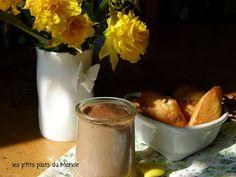 Les p'tits plats du Manoir: Petite crème au chocolat - caramel ... toujours facon danette