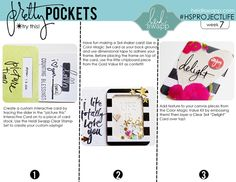 Heidi Swapp Pretty Pockets Week 7 @heidiswapp @beckyhigginsllc #heidiswapp #projectlife #hsprojectlife